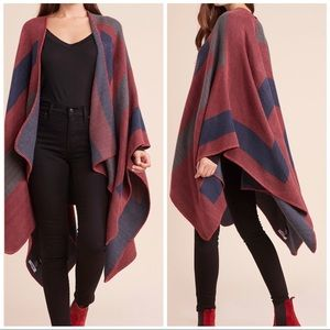 OS Mulberry Poncho